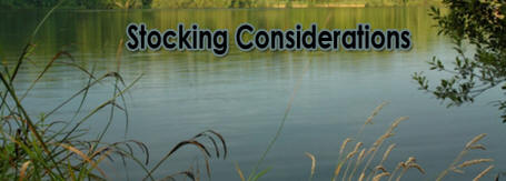 Stocking Considerations - Harrison Fisheries